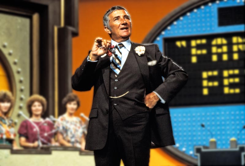 "Richard Dawson, host of TV's ""Family Feud"""