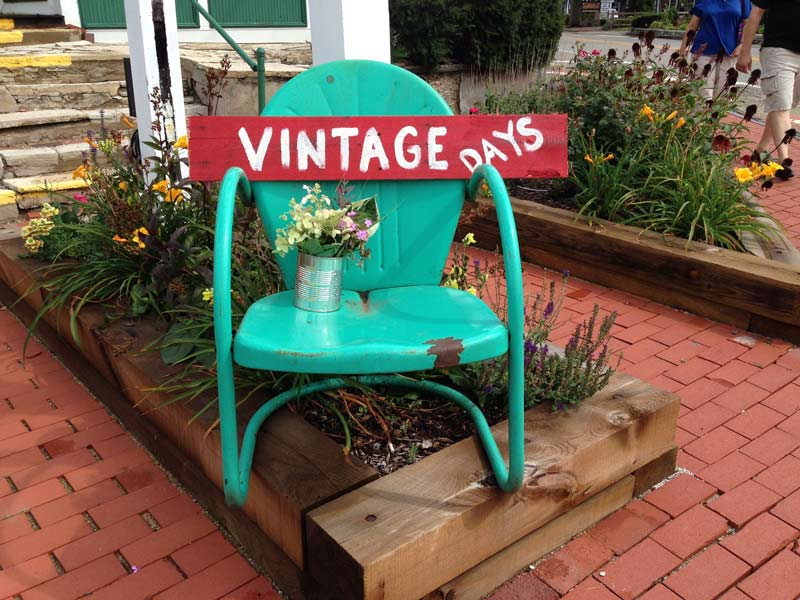Our first ever Vintage Days is being held this weekend in downtown Long Grove.