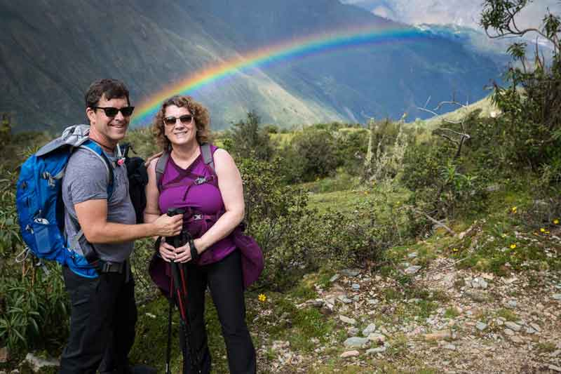 UPDATE: This photo was taken during our hike in Peru on April 30, 2017, five days after this blog post was originally published. Mother Nature provided the perfect illustration!