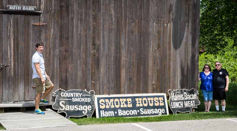 The Long Grove Historical Society's 1840 Ruth Barn will be the new home for the iconic signs from the Country Smokehouse.