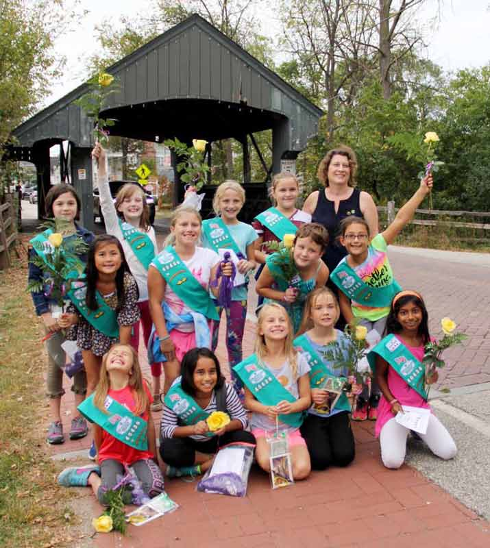 On October 3, 2017 I was honored to help Girl Scout Troop #40436 with their bridging ceremony. Just look at these joyful smiles!