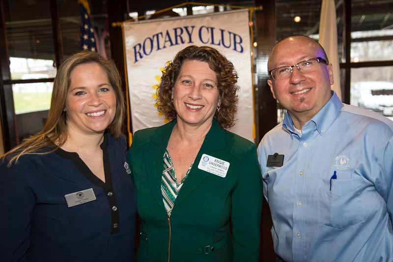 Primrose School of Long Grove Director Sarah Simon and Franchise Owner Rich Wierzchon joined me at the March 15, 2016 Rotary Club meeting.