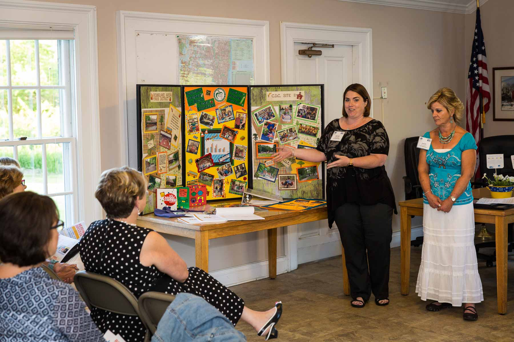 Our Village Hall was the recent setting for the presentation of over $60,000 in grant funds from United Way of Lake County Women's Leadership Council.