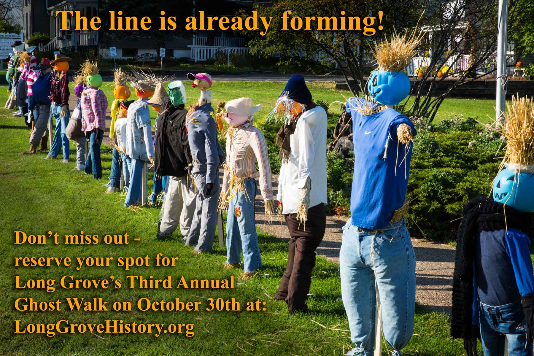 Better get in line for all of the fun happenings this Fall in Long Grove!