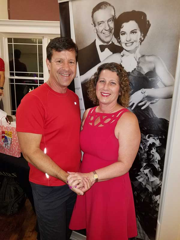While my husband Aaron and I are no Fred and Ginger, we are adding more joy to the time we have left together by learning how to dance.