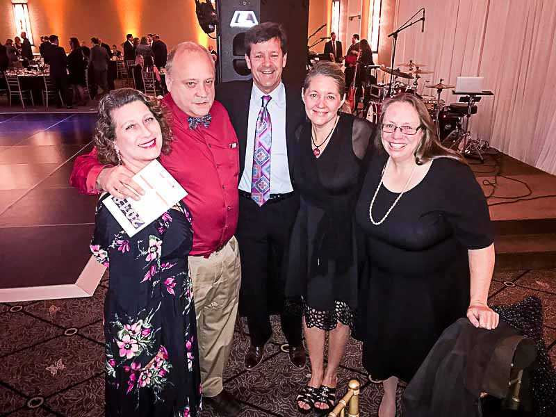 Attendees at the Evening of Excellence (L to R): Angie Underwood, John Kopecky, Aaron Underwood, Amy Gayton, and Vicki Kopecky.