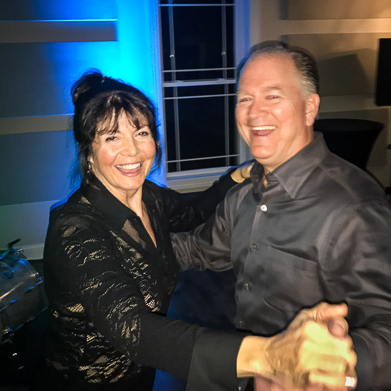 Lori and Mike Lyman took to the dance floor in support of the Long Grove Arts and Music Council at their March 10th Jazz & Dance Fundraiser.