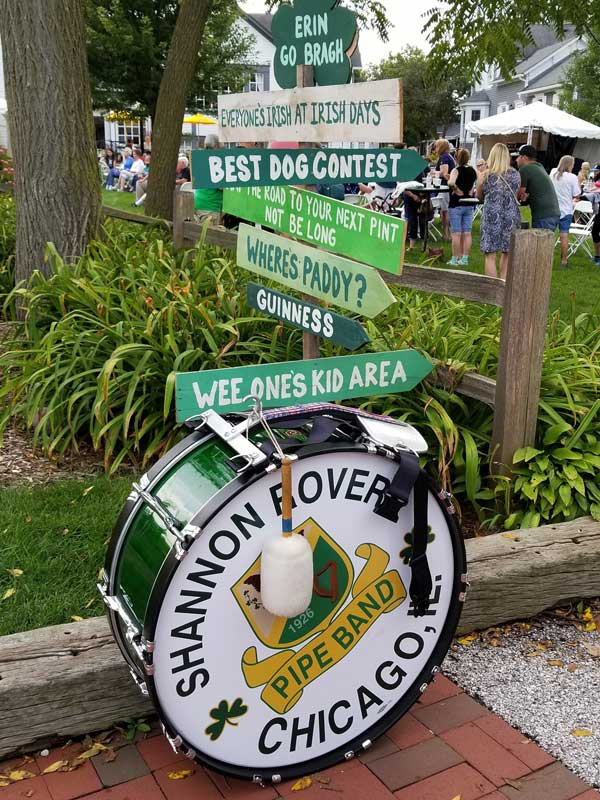 All directions point to a good time during Irish Days!